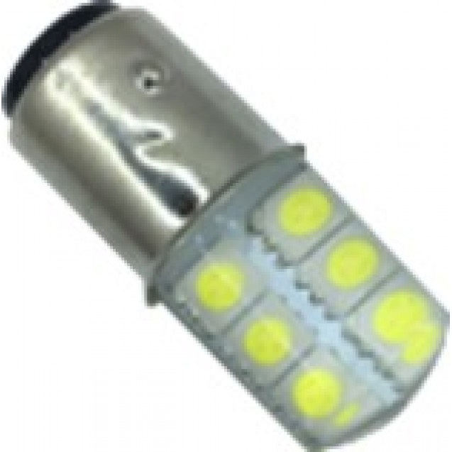 1156 - 12smd - 5050 - Sil