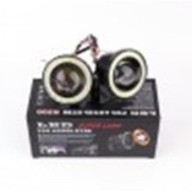 "Ходовые огни LED Lens + Angel Eyes R500 - 3""(76mm)"